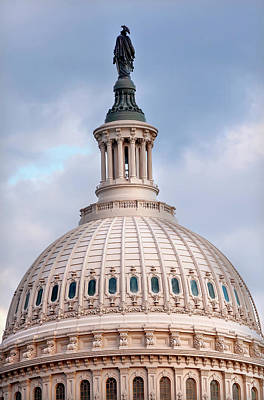 Federal Government Photograph - Us Capitol, Washington Dc by William Perry