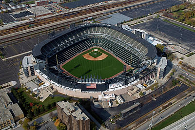 Us Cellular Field Chicago Sports 08 Art Print by Thomas Woolworth