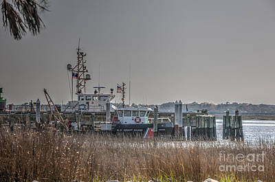Photograph - U.s. Coast Guard Charleston Sc by Dale Powell