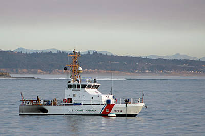 U.s. Coast Guard Cutter - Hawksbill Art Print