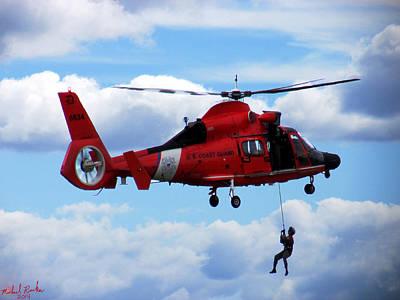 U S Coast Guard - Detroit  Original by Michael Rucker