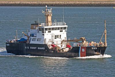 Coast Guard Photograph - Us Coast Guard  by Betsy Knapp