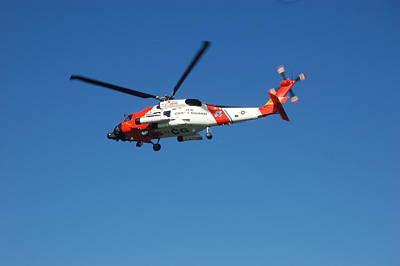 Sara Habecker Folk Print - US Coast Guard Rescue by Christopher James
