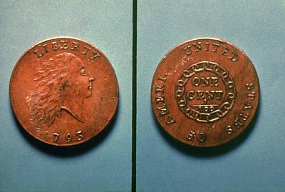 U.s. Coin, 1793 Art Print