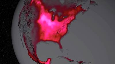 Agronomy Photograph - Us Crop Productivity by Nasa/goddard Space Flight Center