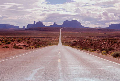 Photograph - Us Highway 163 by Nicholas Blackwell