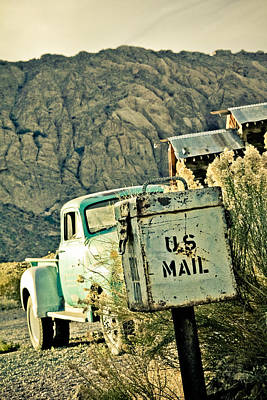 Us Mail Art Print by Merrick Imagery