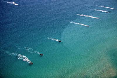 U.s. Marine Amphibious Assault Vehicles Art Print