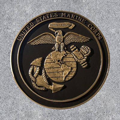 Us Marine Corps Art Print by Chris Flees