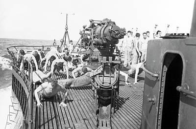 U.s. Marine Raiders Exercise Art Print by Stocktrek Images