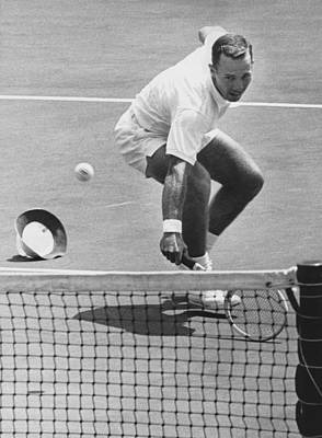 Photograph - U.s. Mexico Davis Cup Playoffs by Underwood Archives