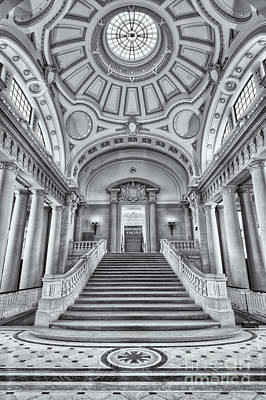 Photograph - Us Naval Academy Bancroft Hall II by Clarence Holmes