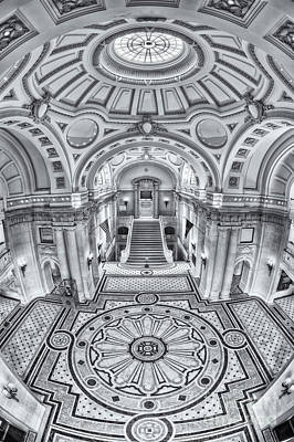 Photograph - Us Naval Academy Bancroft Hall Iv by Clarence Holmes
