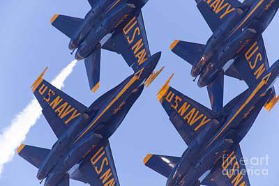Us Navy Blue Angels 5d29597 Art Print by Wingsdomain Art and Photography