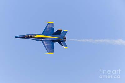 Us Navy Blue Angels At San Francisco Fleet Week 5d29592 Art Print by Wingsdomain Art and Photography