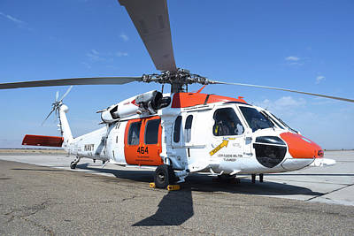 Photograph - U.s. Navy Mh-60s Helicopter by Riccardo Niccoli