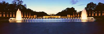Washington D.c. Photograph - U.s. World War II Memorial by Panoramic Images