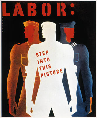 Photograph - U.s. World War II Poster by Granger