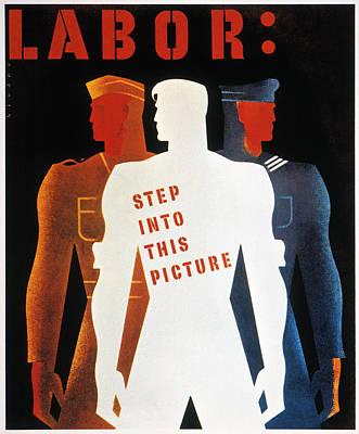 Photograph - U.s. World War II Poster by Granger