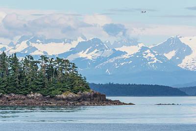 Alaska Photograph - Usa, Alaska Air Taxi Flies by Jaynes Gallery