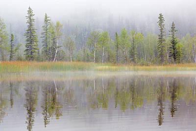 Usa, Alaska, Little Lost Lake Art Print
