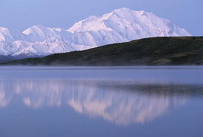 Usa, Alaska, Mount Mckinley, Wonder Art Print