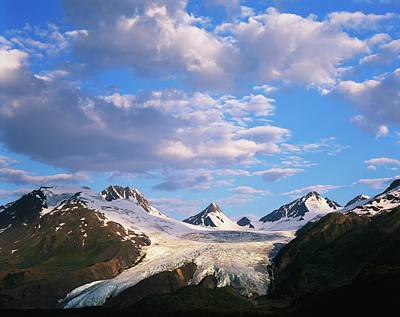 Worthington Photograph - Usa, Alaska, Worthington Glacier by Adam Jones