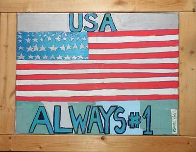 Usa Always Number 1 Original by Howard Yosha