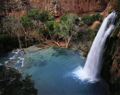 Havasupai Photograph - Usa, Arizona, Grand Canyon National by Christopher Talbot Frank