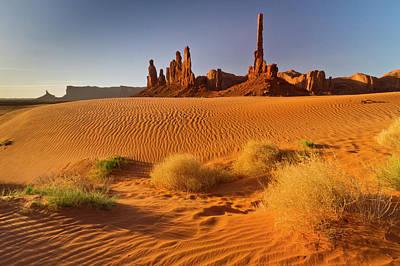 Usa, Arizona, Monument Valley Navajo Print by Jaynes Gallery