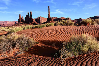 Usa, Arizona, Monument Valley, Totem Art Print by John Ford