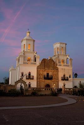 Mission San Xavier Del Bac Photograph - Usa, Arizona, Tucson, Mission San by Peter Hawkins