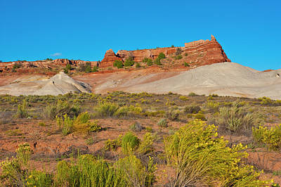 Whitehouse Wall Art - Photograph - Usa, Arizona, Vermillion Cliffs by Bernard Friel
