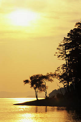 Arkansas Photograph - Usa, Arkansas Sunset On Lake Ouachita by Jaynes Gallery