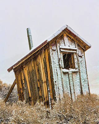 Outhouses Photograph - Usa, California, Bodie by Jaynes Gallery