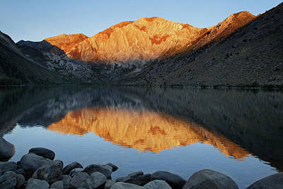 Mammoth Lakes Photograph - Usa, California Convict Lake At Sunrise by Jaynes Gallery