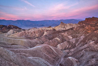 Usa, California, Death Valley Art Print