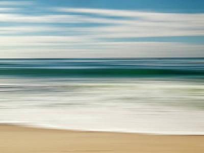 Abstract Beach Landscape Photograph - Usa, California, La Jolla, Abstract by Ann Collins