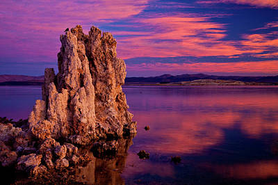 Usa, California, Mono Lake Art Print