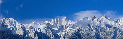 Usa, California, Mount Whitney Art Print by Panoramic Images
