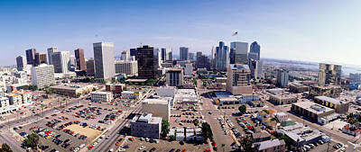 Usa, California, San Diego, Downtown Art Print by Panoramic Images