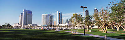 Usa, California, San Diego, Marina Park Art Print by Panoramic Images
