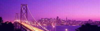 Bay Bridge Photograph - Usa, California, San Francisco, Bay by Panoramic Images
