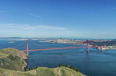 Usa, California, San Francisco, City Art Print