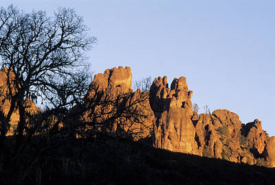 Usa, California, Sunset, High Peaks Art Print
