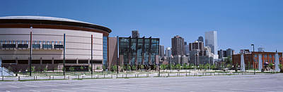 Pepsi Photograph - Usa, Colorado, Denver, Skyline by Panoramic Images