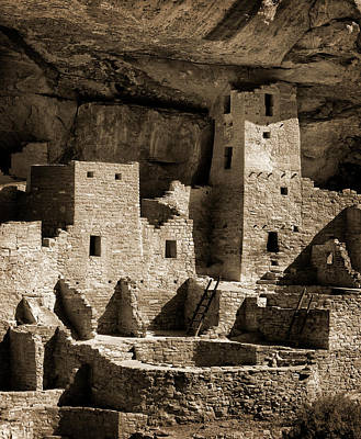 Archeology Photograph - Usa, Colorado, Mesa Verde National Park by Ann Collins