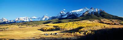 Usa, Colorado, Ridgeway, Last Dollar Print by Panoramic Images