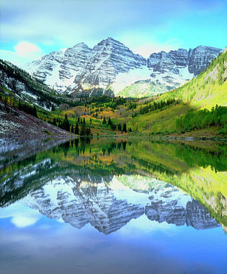 Usa, Colorado Rocky Mountains, Maroon Art Print by Jaynes Gallery