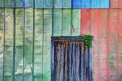 Usa, Florida, Apalachicola, Colorful Print by Joanne Wells